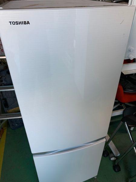 東芝 153L 2ドア冷凍冷蔵庫 GR-M15BS