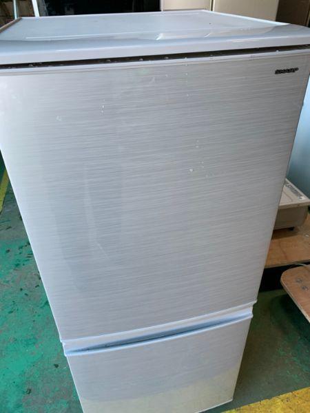 シャープ 2ドア冷蔵庫 SJ-D14D-S