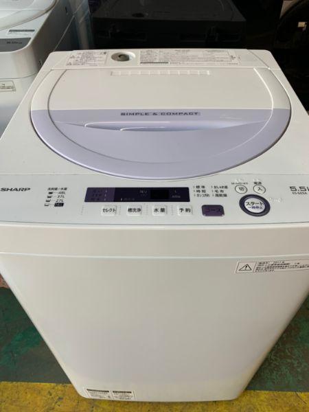 SHARP 全自動洗濯機 5.0kg ES-GE5A-V