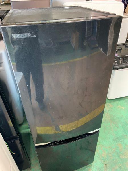 東芝 TOSHIBA ノンフロン冷凍冷蔵庫 153L GR-P15BS