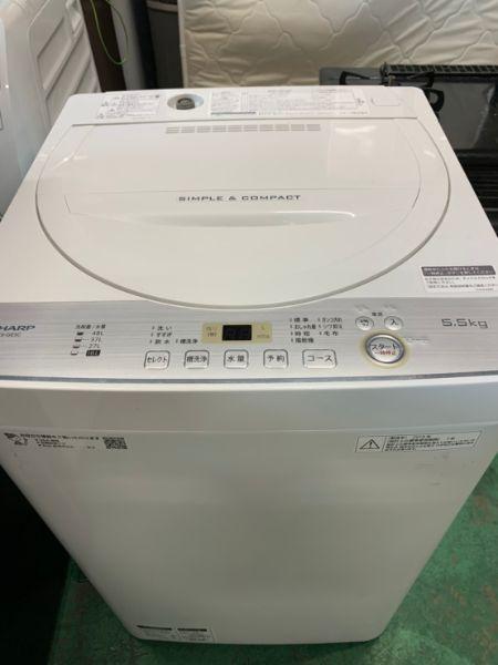 SHARP 洗濯機 ES-GE5C-W