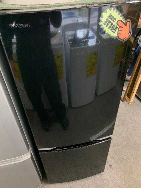 東芝 ノンフロン冷凍冷蔵庫 153L GR-P15BS