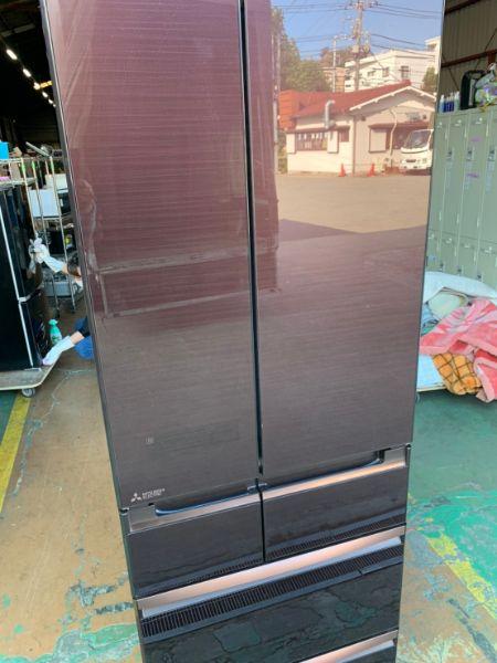 MITSUBISHI 三菱 冷蔵庫 MR-WX53Z-BR
