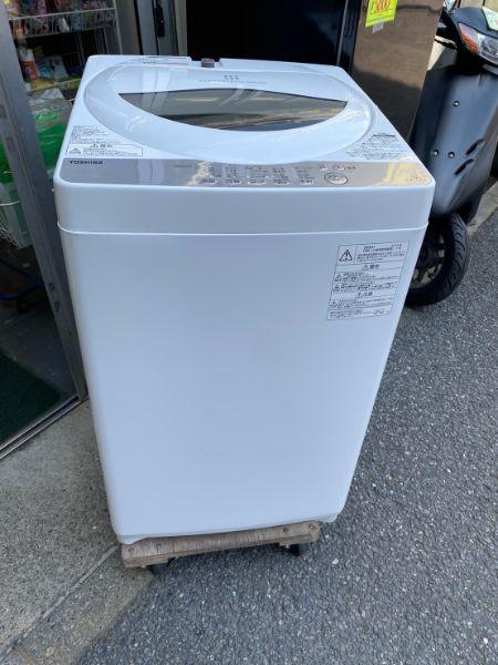 TOSHIBA 電気洗濯機 5.0kg AW-5G6