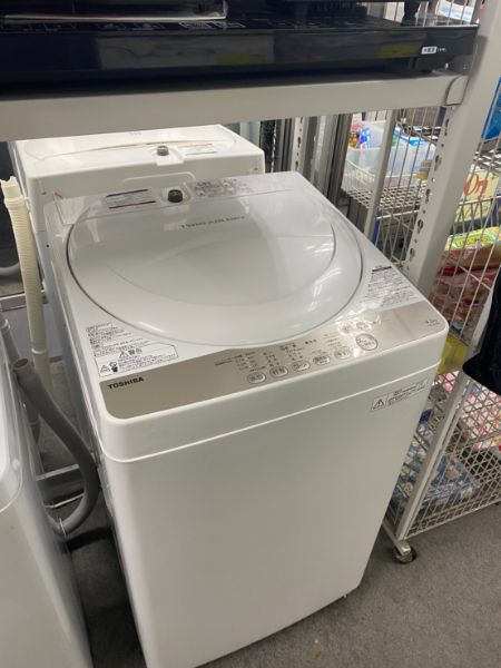 東芝 単身用全自動洗濯機 4.2kg AW-4S3
