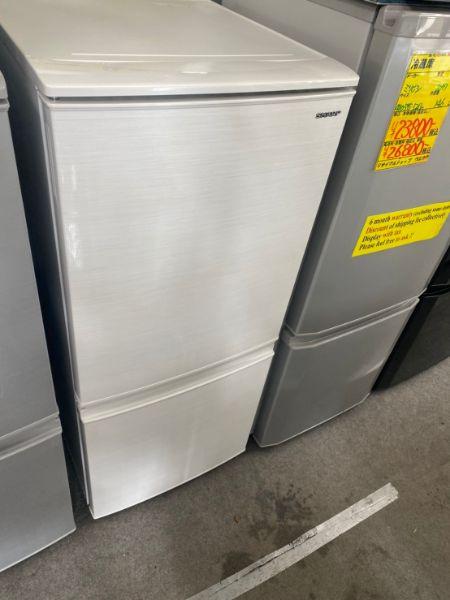シャープ SHARP 冷凍冷蔵庫 SJ-D14E-W