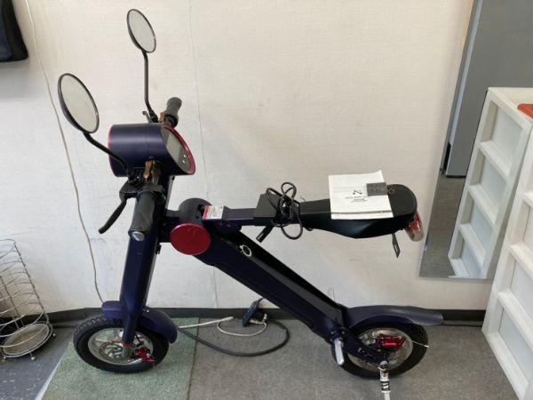 UPQ BIKE me01 折りたたみ電動バイク