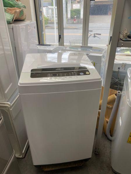 アイリスオーヤマ 全自動洗濯機 IAW-T501 W