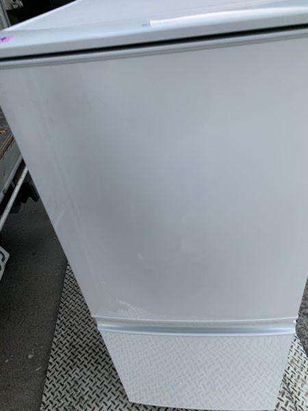 SHARP シャープ SJ-D14B-W 2ドア冷凍冷蔵庫