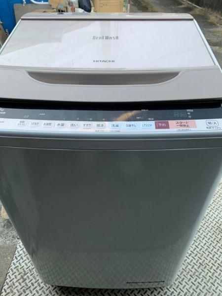日立 全自動洗濯機 ビートウォッシュ 9kg BW-V90B