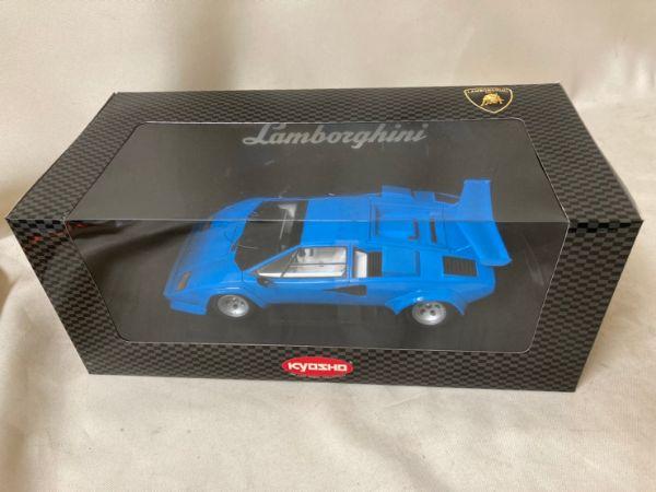 京商/KYOSHO 1/18 Lamborghini LP5000 QV ランボルギーニ カウンタック ブルー
