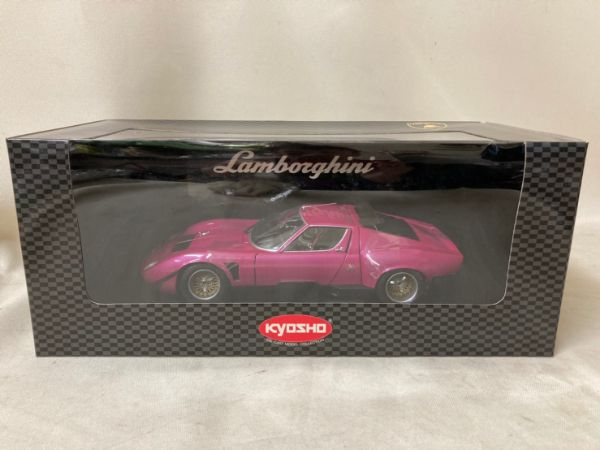 京商/KYOSHO 1/18 Lamborghini JOTA SVR ランボルギーニ イオタ