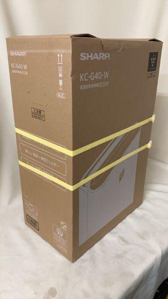 SHARP 加湿空気清浄機 KC-G40-W
