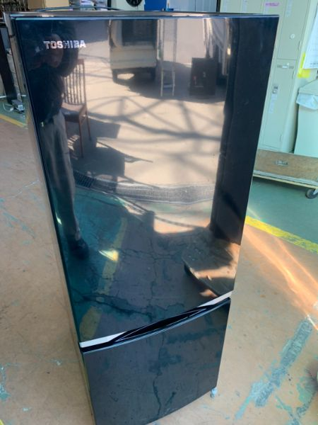 TOSHIBA 東芝 2ドア冷凍冷蔵庫 GR-M15BS