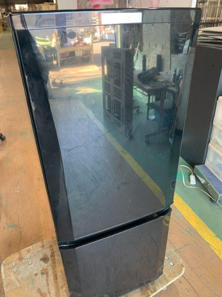 三菱 MITSUBISHI 冷凍 冷蔵庫 146L MR-P15D-B