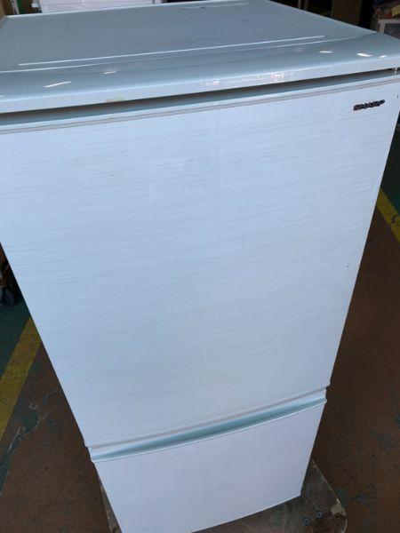 SHARPノンフロン冷凍冷蔵庫 SJ-D14D-S 2ドア 137L