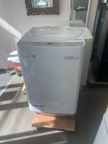 SHARP シャープ 全自動洗濯機 ES-GE6B-W