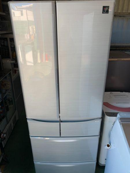 シャープ SHARP 冷凍冷蔵庫 6ドア 455L SJ-F462D-S