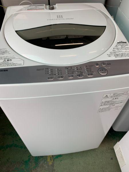 東芝 全自動洗濯機 洗濯機 AW-5G6
