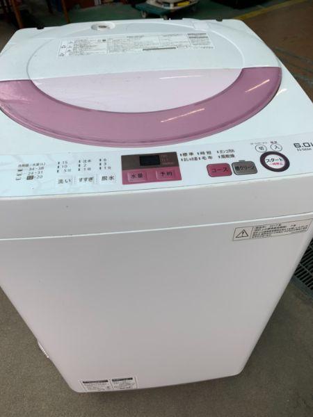 SHARP シャープ 全自動洗濯機 6kg ES-GE6A-P