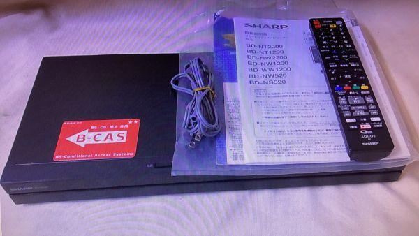 SHARP シャープ AQUOS アクオス BD-NS520