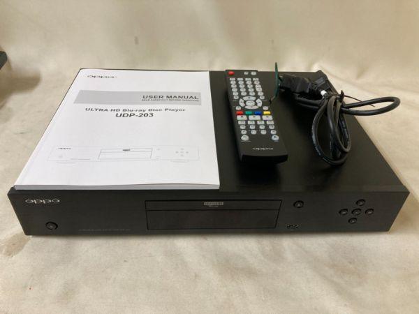 oppo UDP-203 ユニバーサルプレーヤー Blu-ray