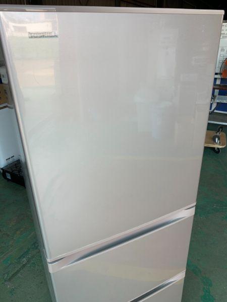 東芝 ベジータ 3ドア 330L 冷凍冷蔵庫 GR-K33S
