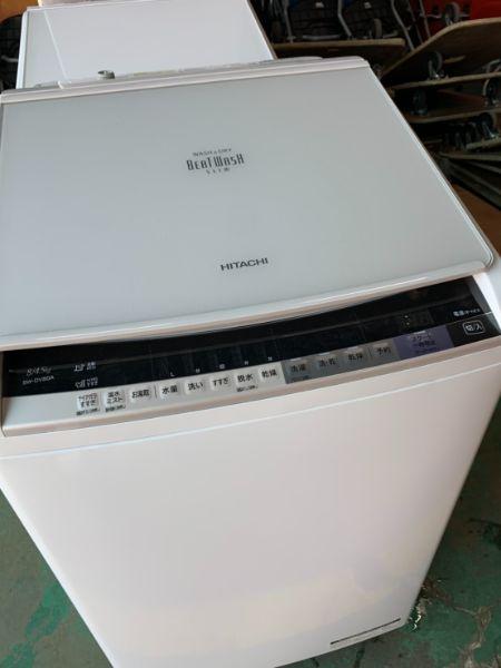 HITACHI ビートウォッシュ BW-DV80A 洗濯乾燥機