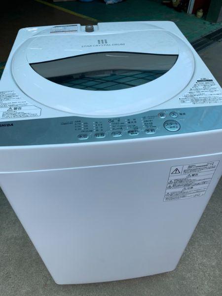 東芝 全自動洗濯機 5kg AW-5G6